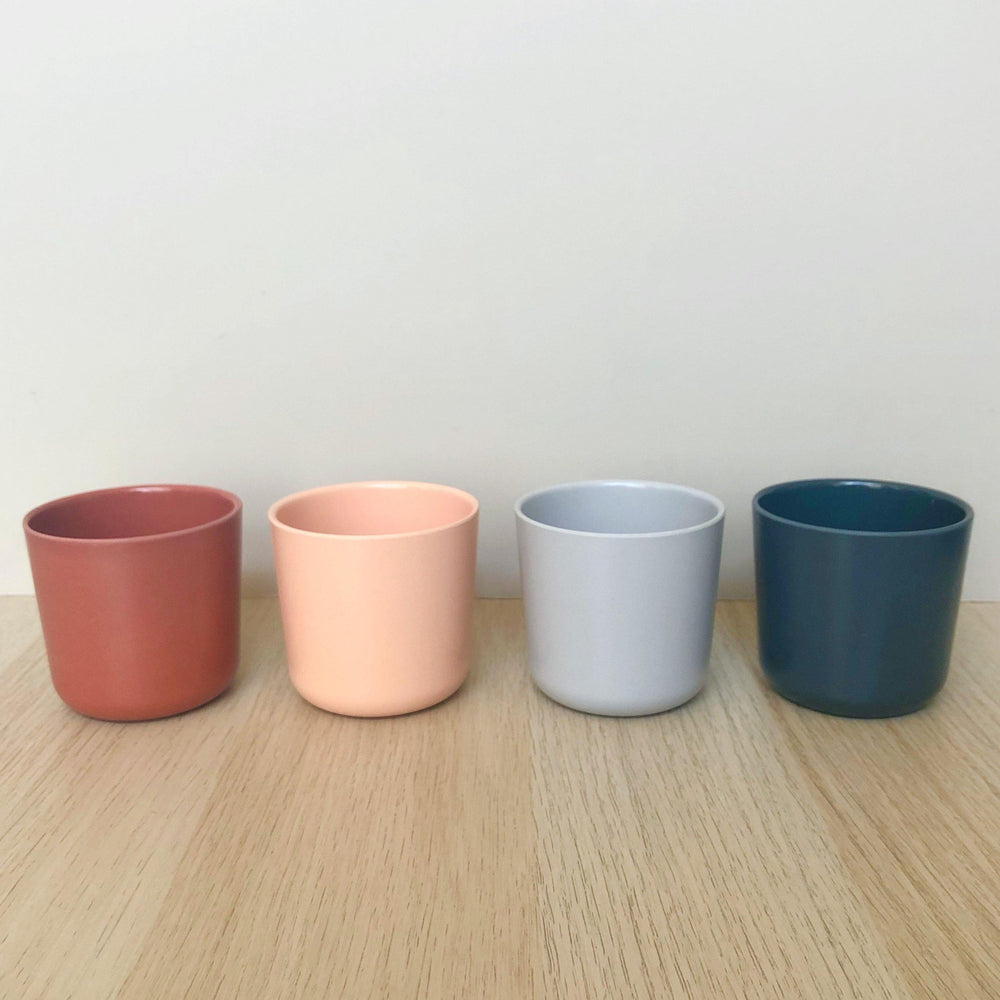 Bamboo Cup Set | Scandi - Modern Raised