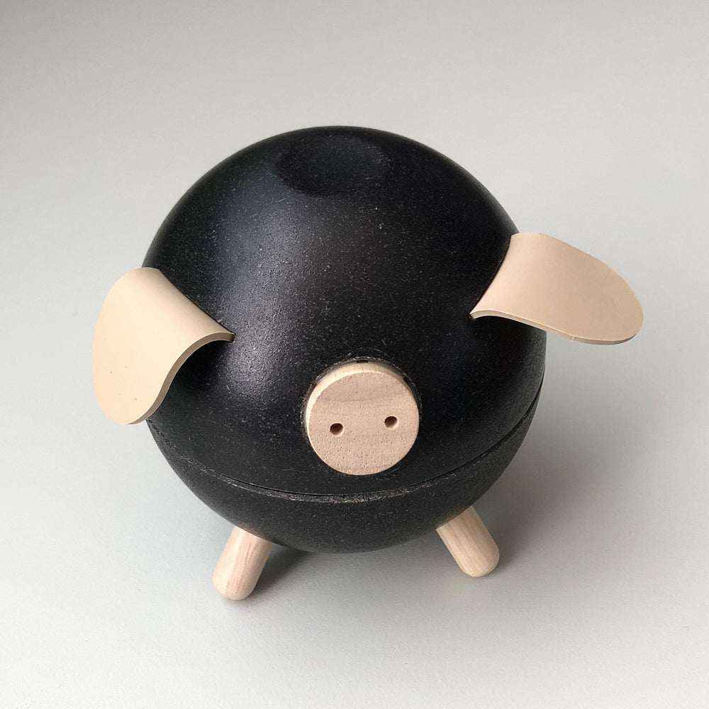Piggy Bank | Black