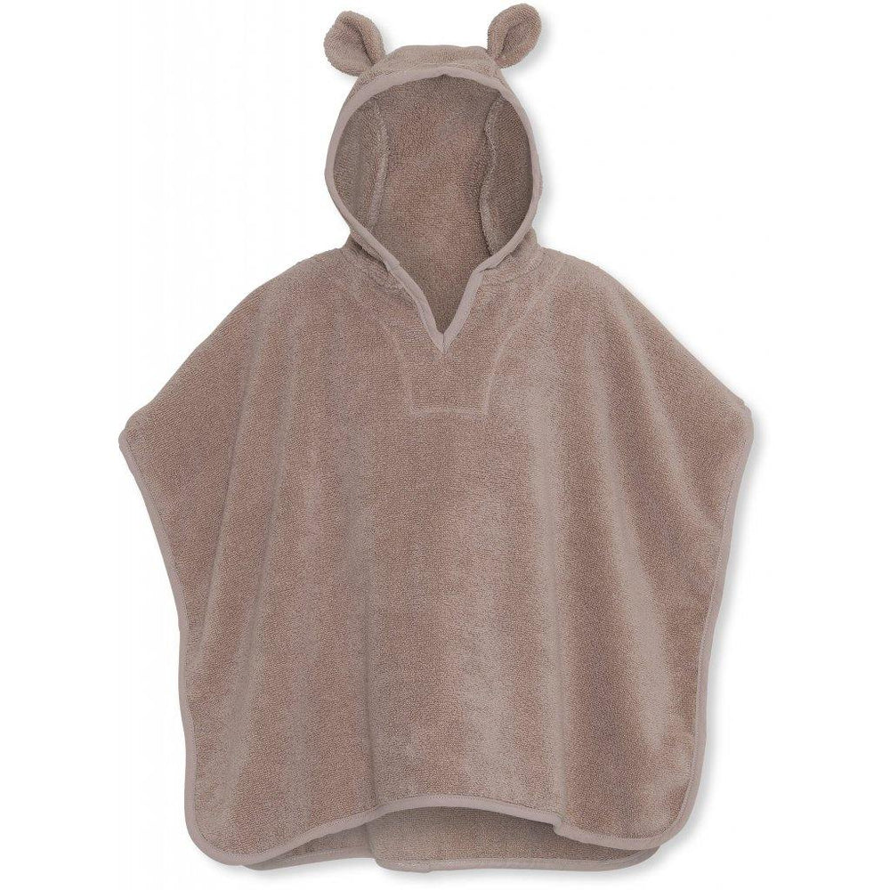 Bear Ear Terry Poncho | Bark - Modern Raised