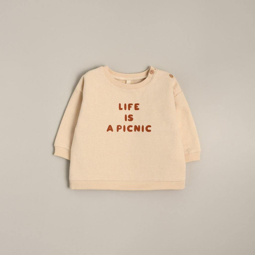 LIFE IS A PICNIC Sweatshirt