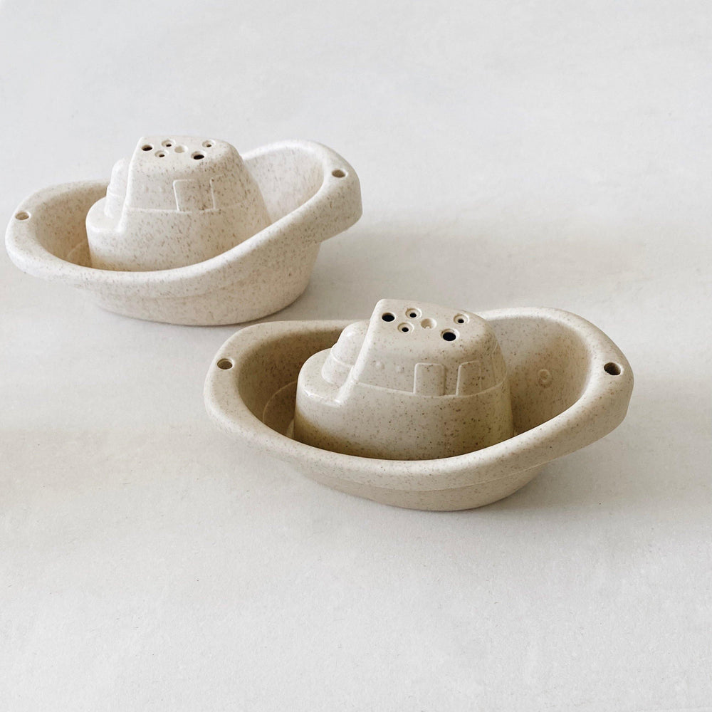 Wheat Straw Boat Set - Modern Raised