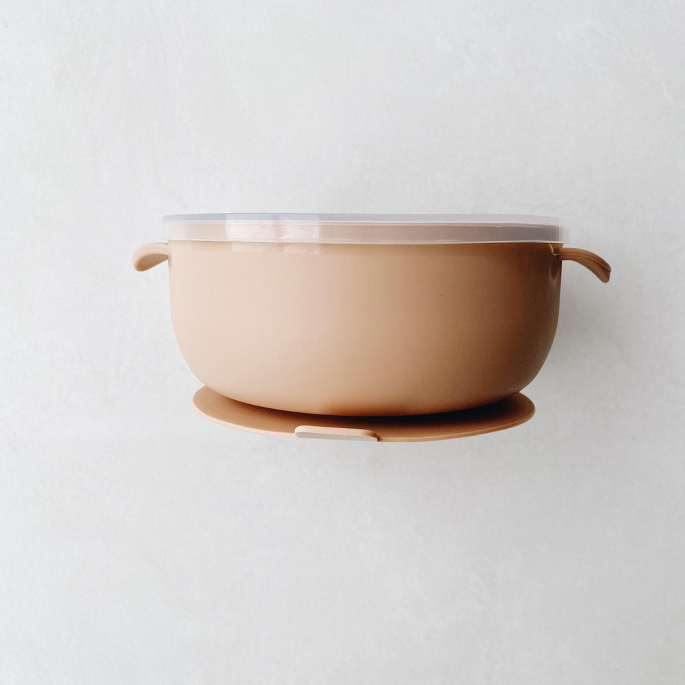 Silicone Suction Bowl | Rose