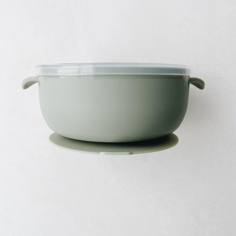 Silicone Suction Bowl | Sage