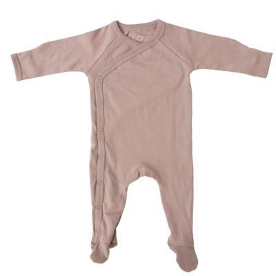 Footed Sleepsuit | Hazelnut