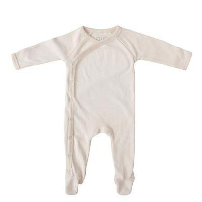 Footed Sleepsuit | Natural