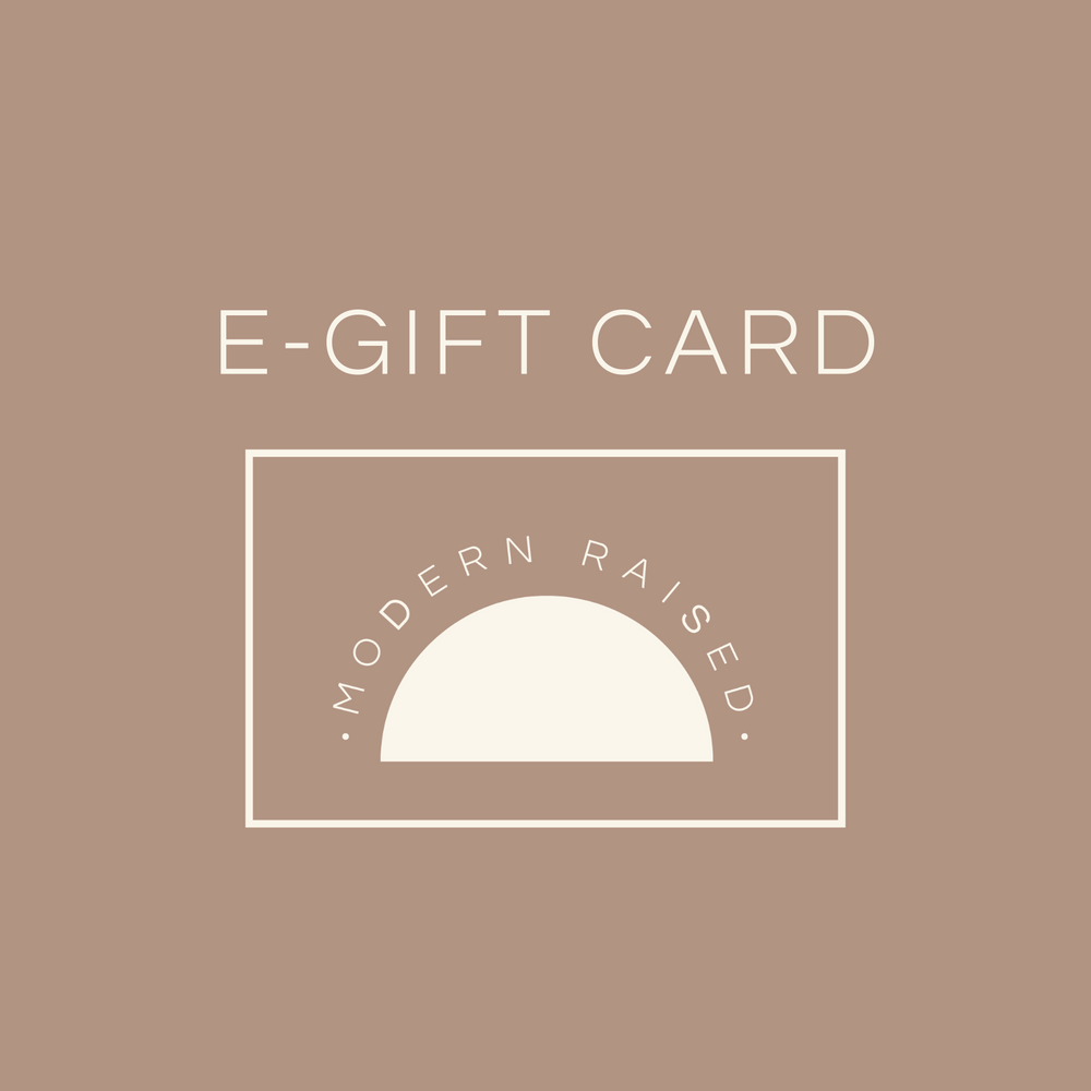 E-Gift Card - Modern Raised