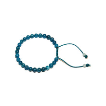 Load image into Gallery viewer, Apatite Adjustable Wrist Mala