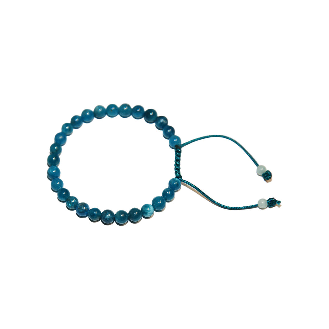 Apatite Adjustable Wrist Mala