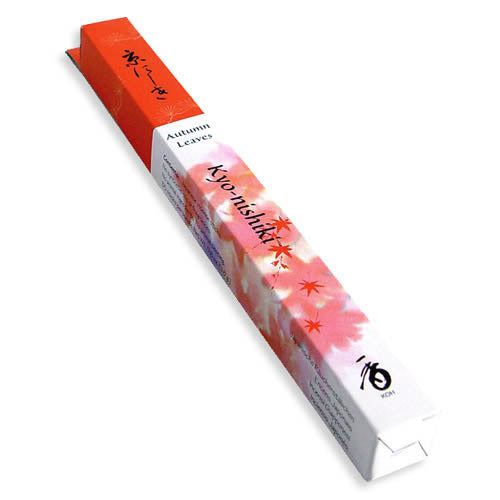 Kyonishiki Kyoto Autumn Leaves Shoyeido Incense