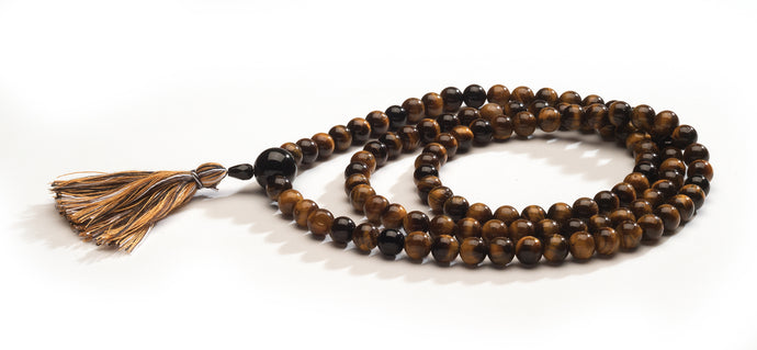 Tiger's Eye Full Mala