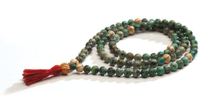 African Turquoise Full Mala