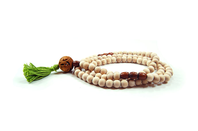 Buddha Wood Full Mala