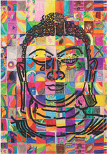Load image into Gallery viewer, Mosaic Buddha Notecard
