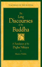 Load image into Gallery viewer, The Long Discourses of the Buddha: A Translation of the Digha Nikaya (The Teachings of the Buddha)