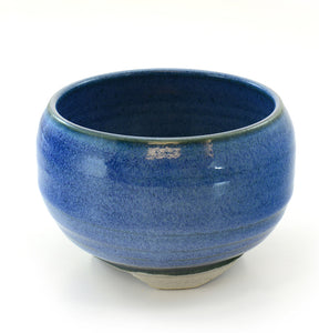 Ocean Blue Japanese Ceramic Incense Bowl