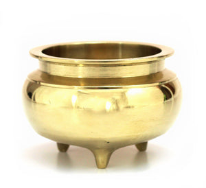Brass Incense Bowl