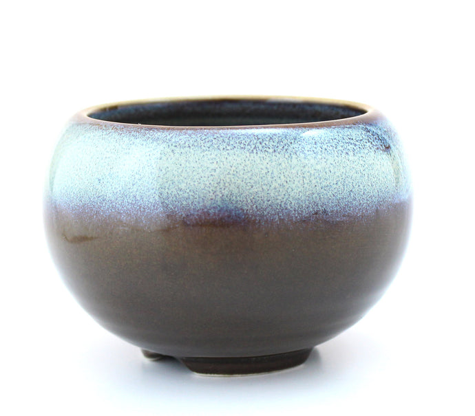 Morning Mist Japanese Ceramic Incense Bowl