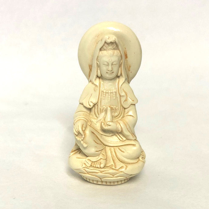 Mini Kuanyin Meditating