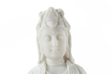Load image into Gallery viewer, White Kannon on Dragon Statue