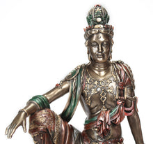 Load image into Gallery viewer, Large Royal Ease Kannon Statue