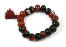 Load image into Gallery viewer, Agate Rondell Wrist Mala
