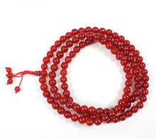 Load image into Gallery viewer, Carnelian Full Mala