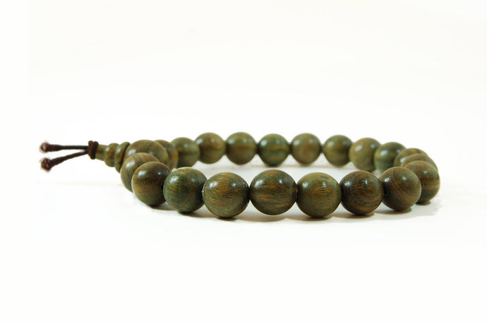 Green Verawood Wrist Mala-Special Offer!