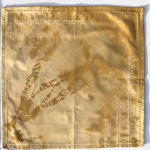 Load image into Gallery viewer, Organic Sueded Cotton Single Napkin-Tenkozan Shibori Variations