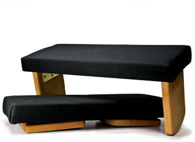 Folding Upholstered Meditation Bench
