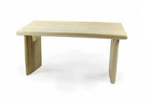 Tall Seiza Folding Meditation Bench