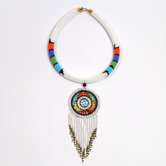 Single-disk Necklace (Beads)