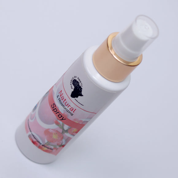 Natural Mosturizing Spray (Rose Water & Veggie Glycerin)