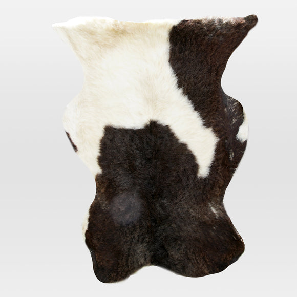 Goat-hide Rug - Black & White (Rūnyarū)