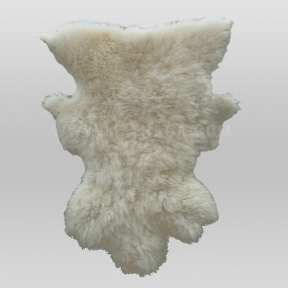 Sheep-hide Rug - Pure White (Gīcerū)
