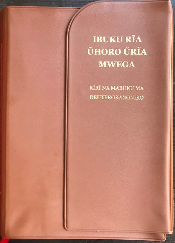 IBUKU RĪA NGAI (with cover) RÏNA MABUKU MA DEUTEROCANONICAL