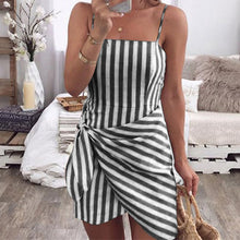 Load image into Gallery viewer, Women Sexy Casual Summer Mini Dress Club Wear Evening Party Bodycon Sleeveless