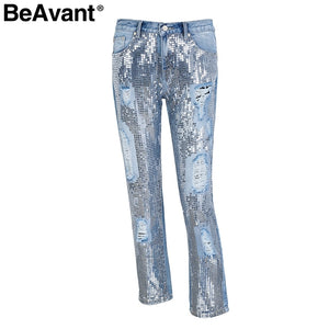 Casual Loose Demin Jeans -  Look-fly.ca