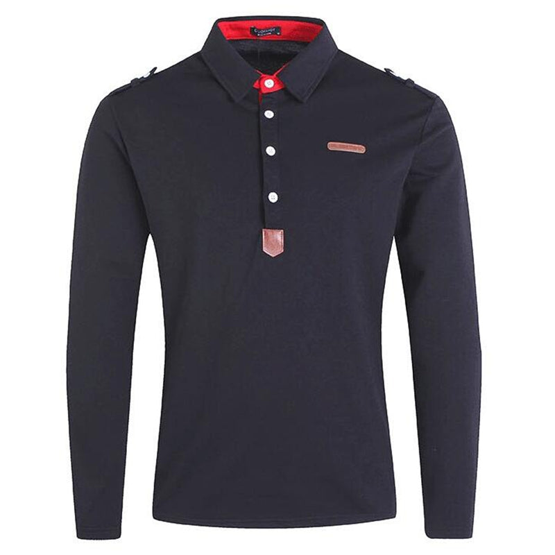 Polo Cotton Shirt For Men -  Look-fly.ca