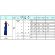 Load image into Gallery viewer, Long Dresses Party Sleeveless Clothing Black Blue Red