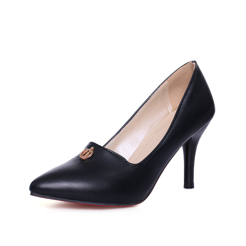 High Heels Pointed Toe Women Breathable Shoes Plus Size