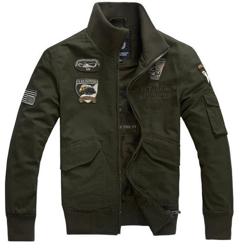 Air Force One Male Brand Clothing Mens Jackets