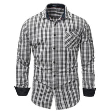 Load image into Gallery viewer, Long Sleeve Button Cotton Shirt Top -  Look-fly.ca