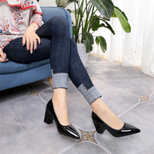 Load image into Gallery viewer, High-Heeled Pointed Shallow-Mouthed Single Shoes