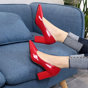 High-Heeled Pointed Shallow-Mouthed Single Shoes