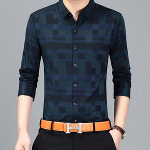 Long Sleeve Button Down Shirt Top -  Look-fly.ca