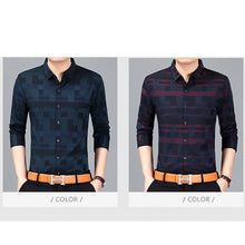Load image into Gallery viewer, Long Sleeve Button Down Shirt Top -  Look-fly.ca