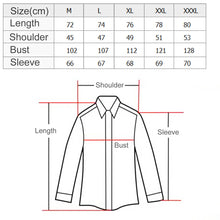 Load image into Gallery viewer, Turn-Down Collar Long Sleeve Shirts -  Look-fly.ca