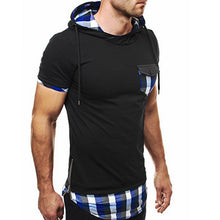 Load image into Gallery viewer, Slim Fit Hoody Hoodie T-Shirt -  Look-fly.ca