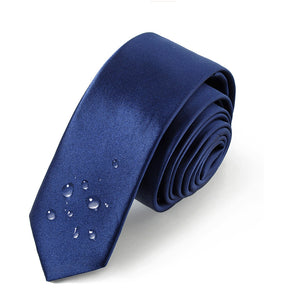 Men Wedding Party Polyester Silk Leisure Necktie Tie