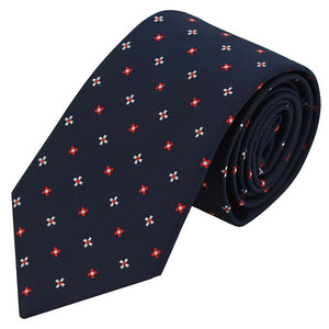 Men Formal Business Leisure Necktie Tie Polyester Silk